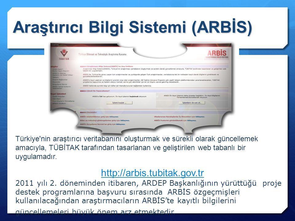 Araştırıcı Bilgi Sistemi (ARBİS)