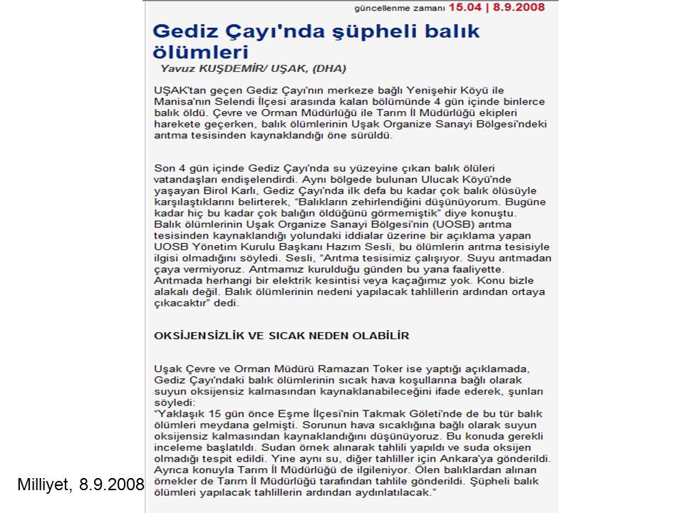 Milliyet, 8.9.2008