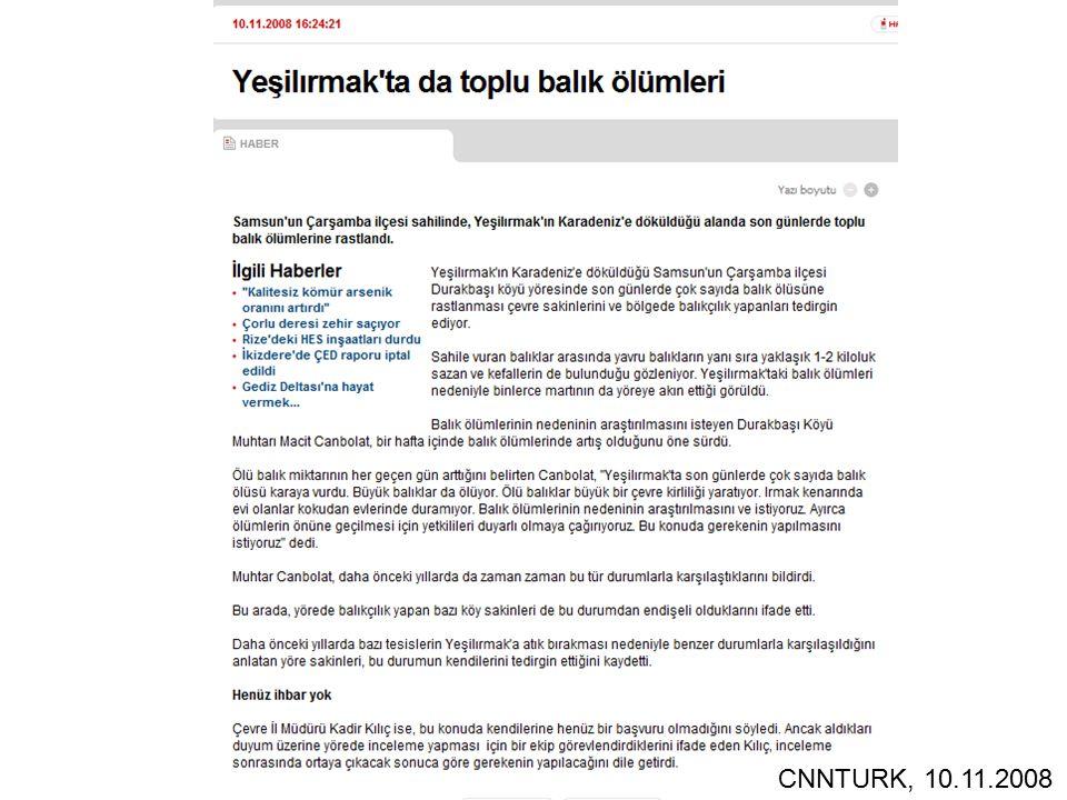 CNNTURK, 10.11.2008