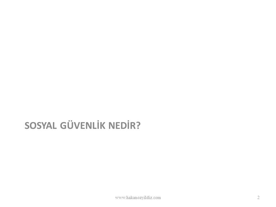 SOSYAL GÜVENLİK NEDİR www.hakanozyildiz.com