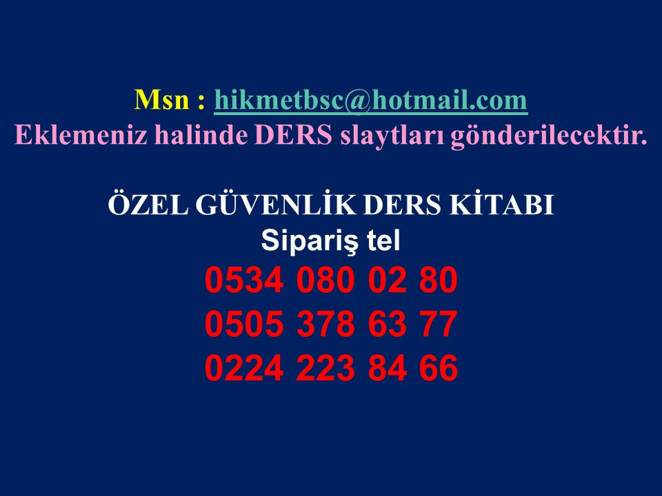Msn : hikmetbsc@hotmail.com