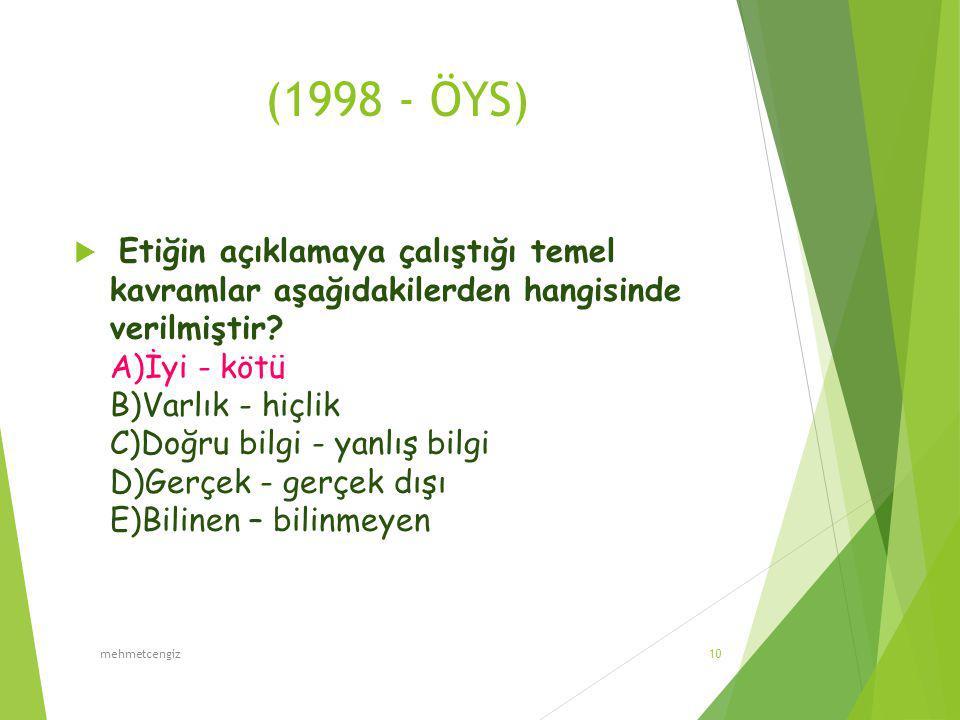 (1998 - ÖYS)