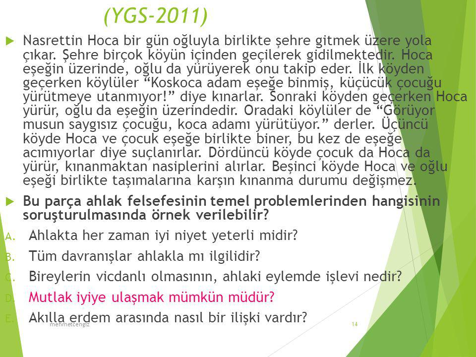 (YGS-2011)