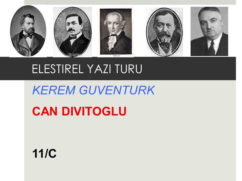 KEREM GUVENTURK CAN DIVITOGLU 11/C