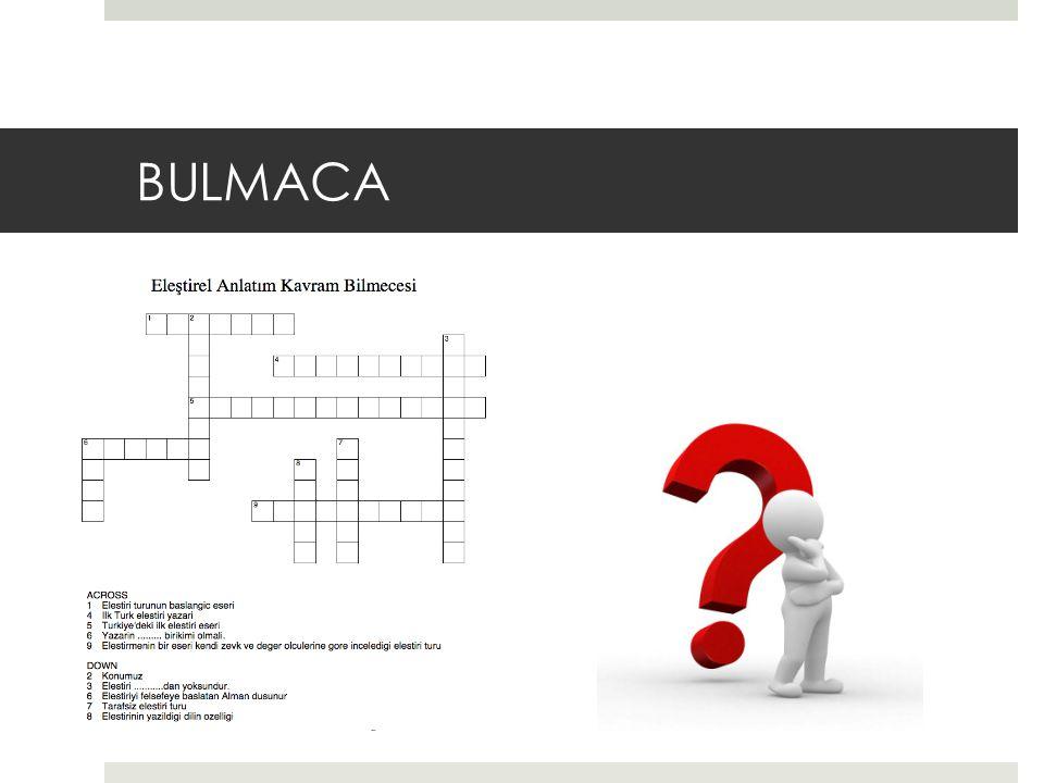 BULMACA