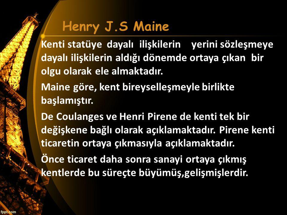 Henry J.S Maine
