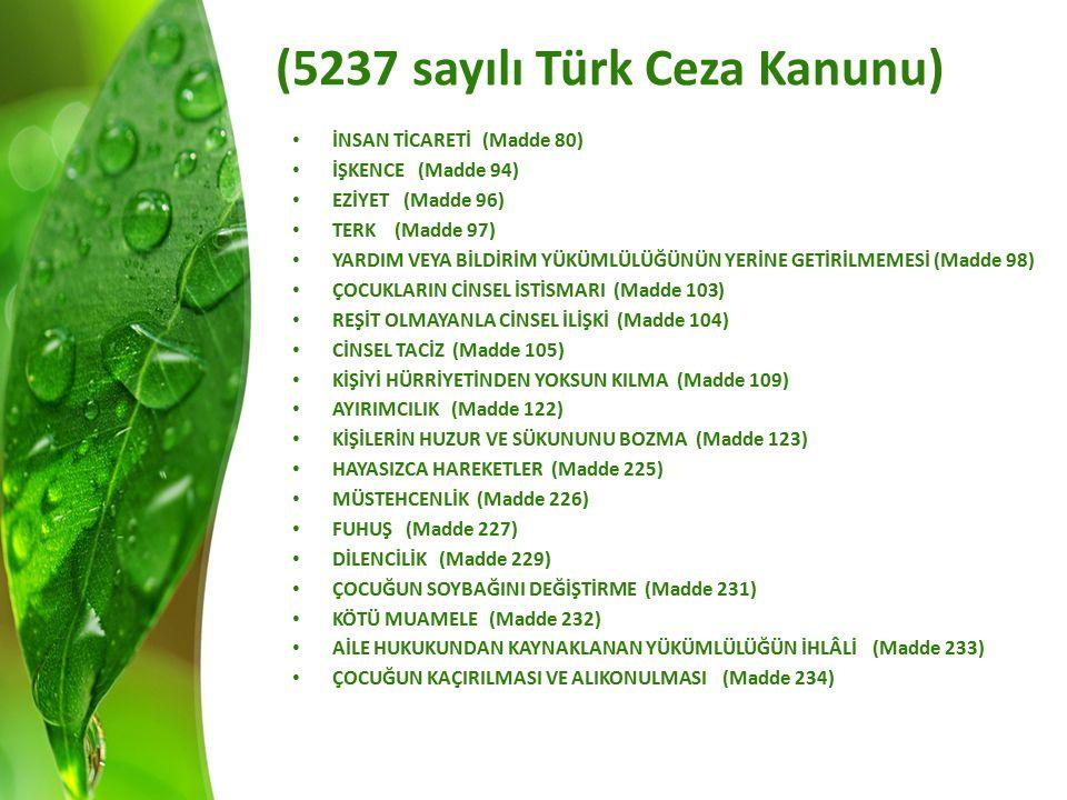 (5237 sayılı Türk Ceza Kanunu)