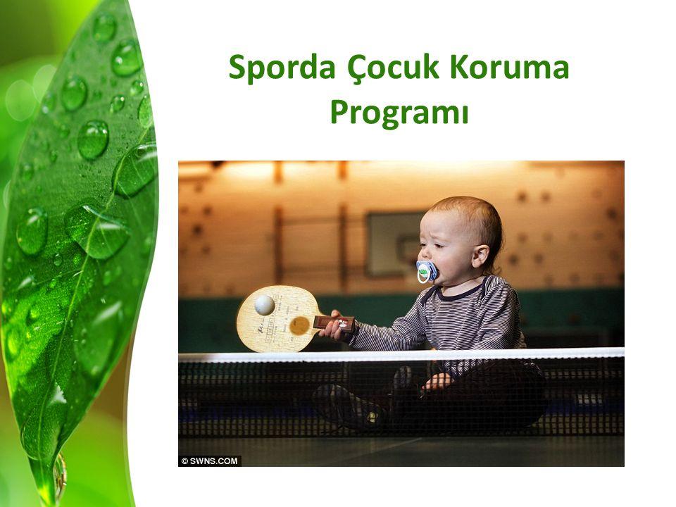 Sporda Çocuk Koruma Programı