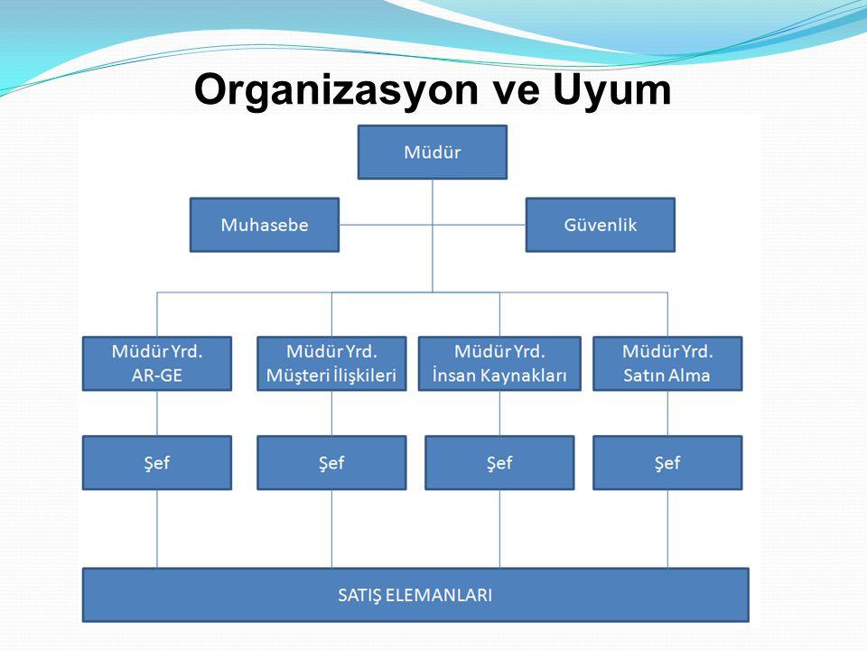 Organizasyon ve Uyum