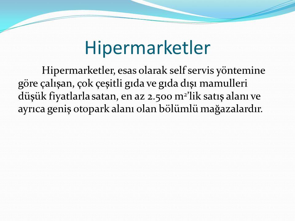 Hipermarketler
