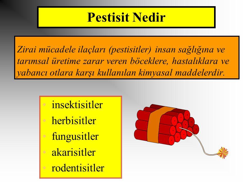 Pestisit Nedir insektisitler herbisitler fungusitler akarisitler