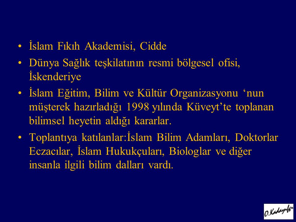 İslam Fıkıh Akademisi, Cidde