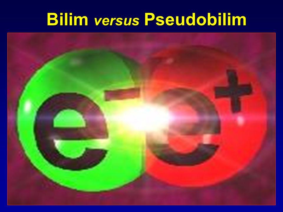 Bilim versus Pseudobilim
