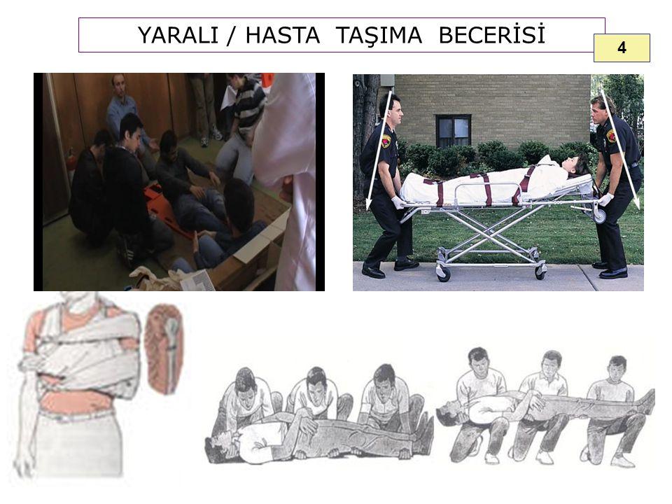 YARALI / HASTA TAŞIMA BECERİSİ