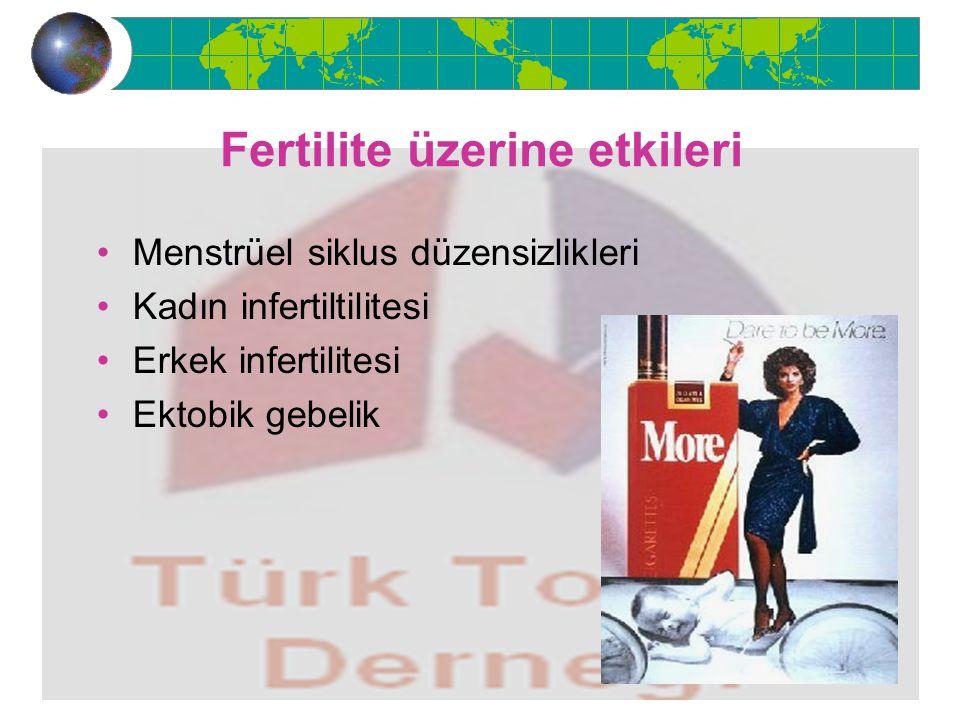 Fertilite üzerine etkileri