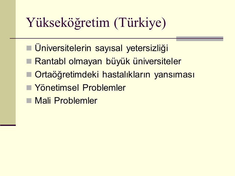 Yükseköğretim (Türkiye)
