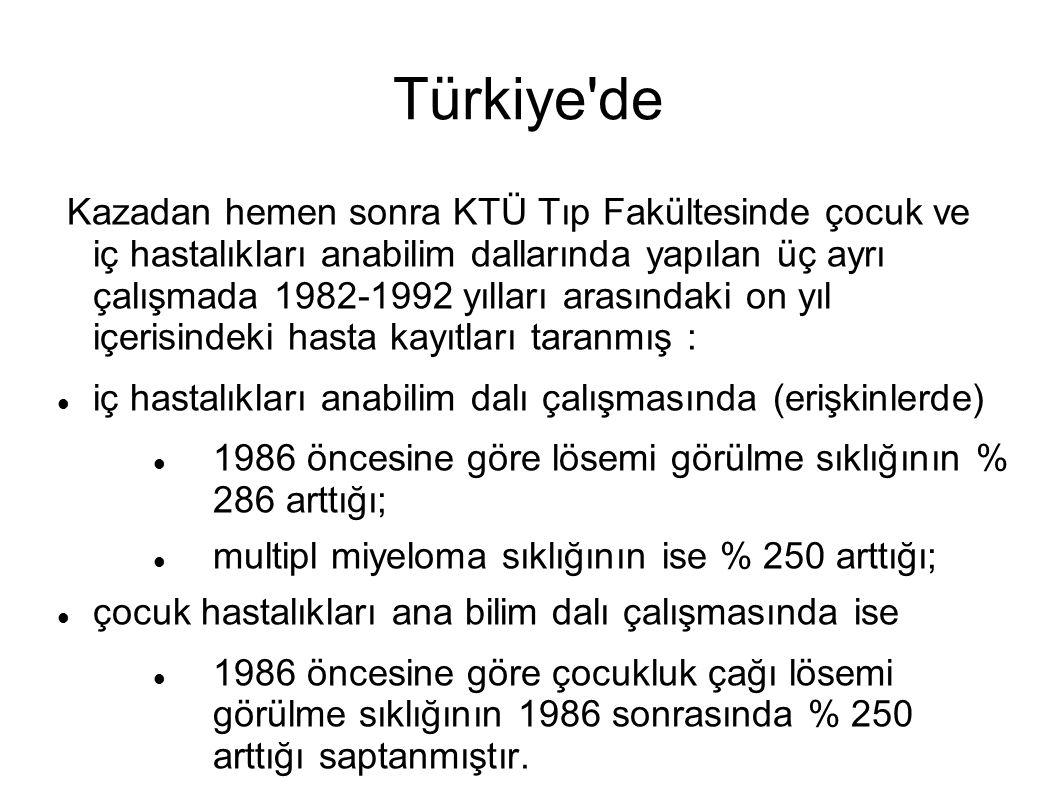 Türkiye de iç hastalıkları anabilim dalı çalışmasında (erişkinlerde)