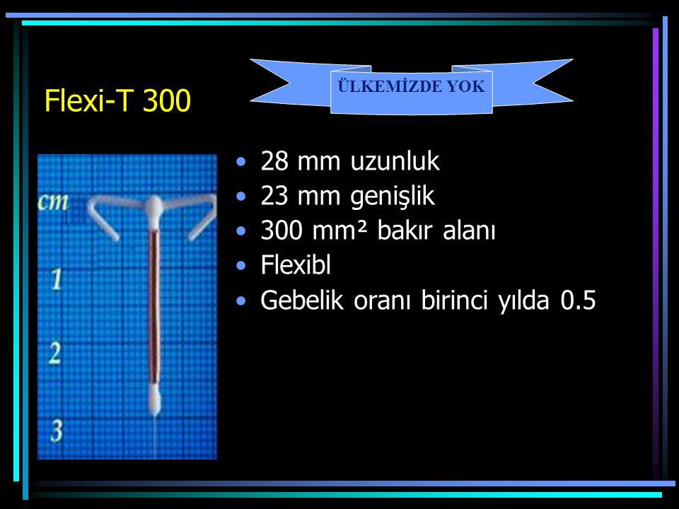 Flexi-T 300 28 mm uzunluk 23 mm genişlik 300 mm² bakır alanı Flexibl