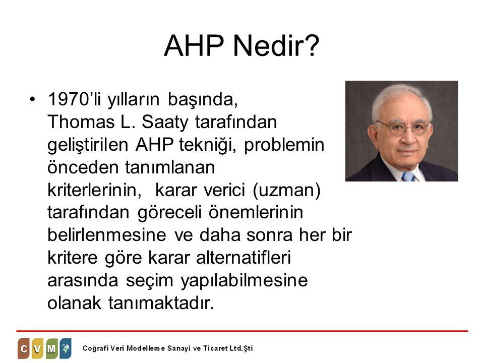 AHP Nedir
