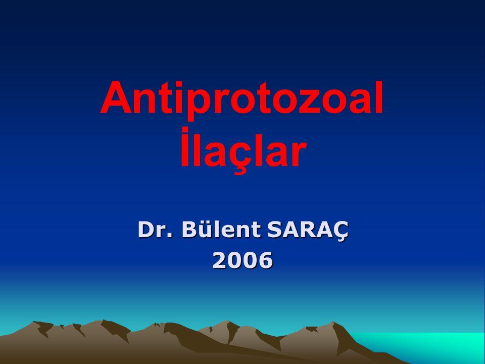 Antiprotozoal İlaçlar