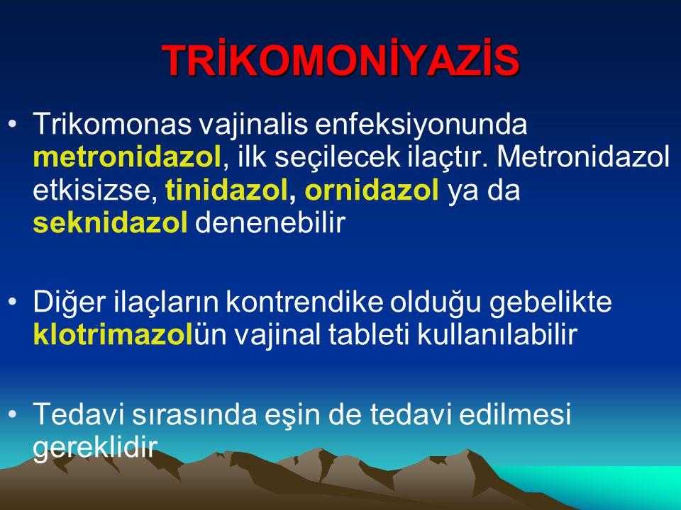 TRİKOMONİYAZİS