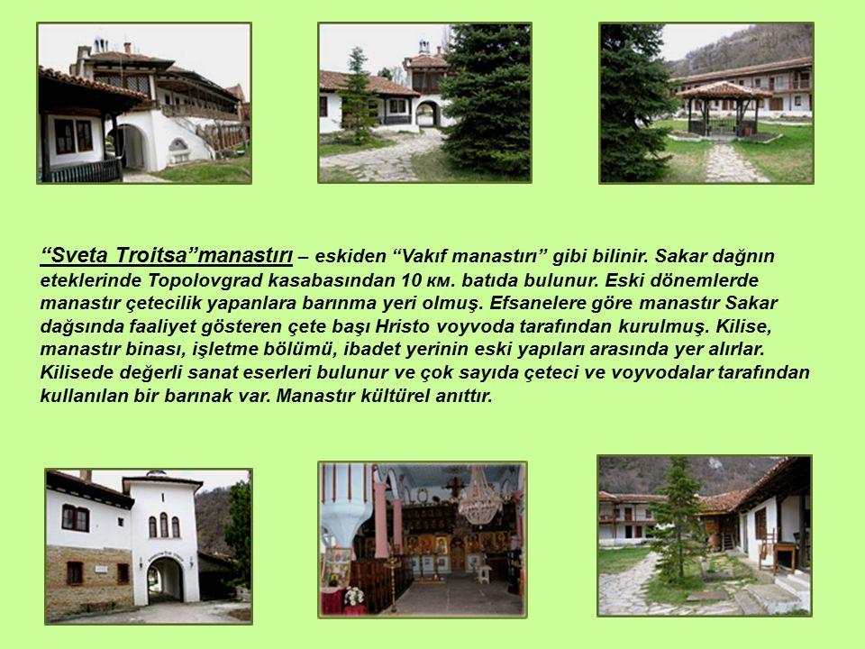 Sveta Troitsa manastırı – eskiden Vakıf manastırı gibi bilinir