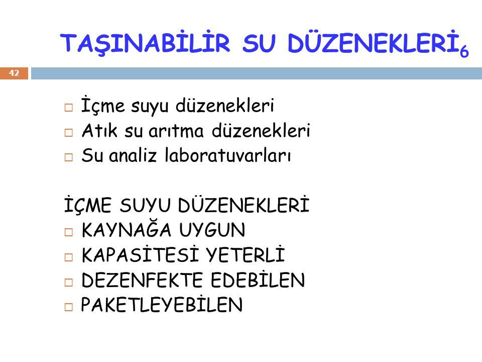 TAŞINABİLİR SU DÜZENEKLERİ6