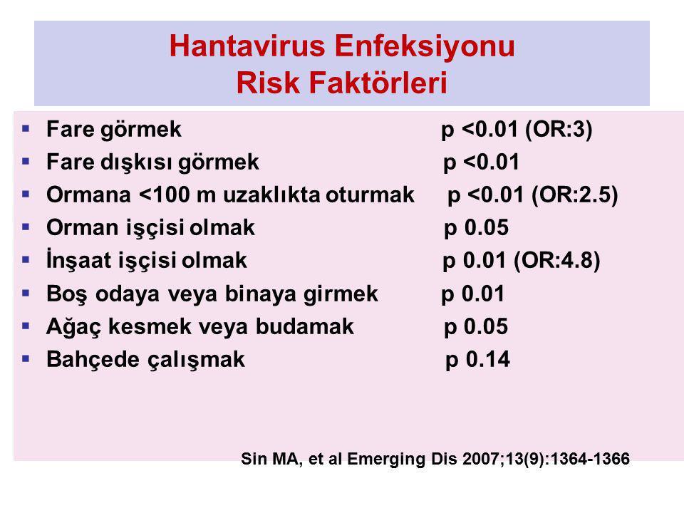 Hantavirus Enfeksiyonu Risk Faktörleri