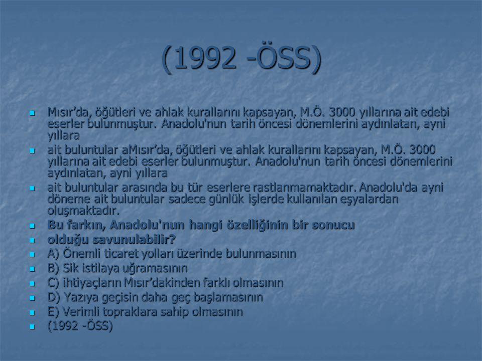 (1992 -ÖSS)