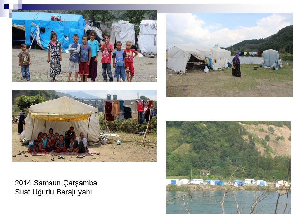 2014 Samsun Çarşamba Suat Uğurlu Barajı yanı