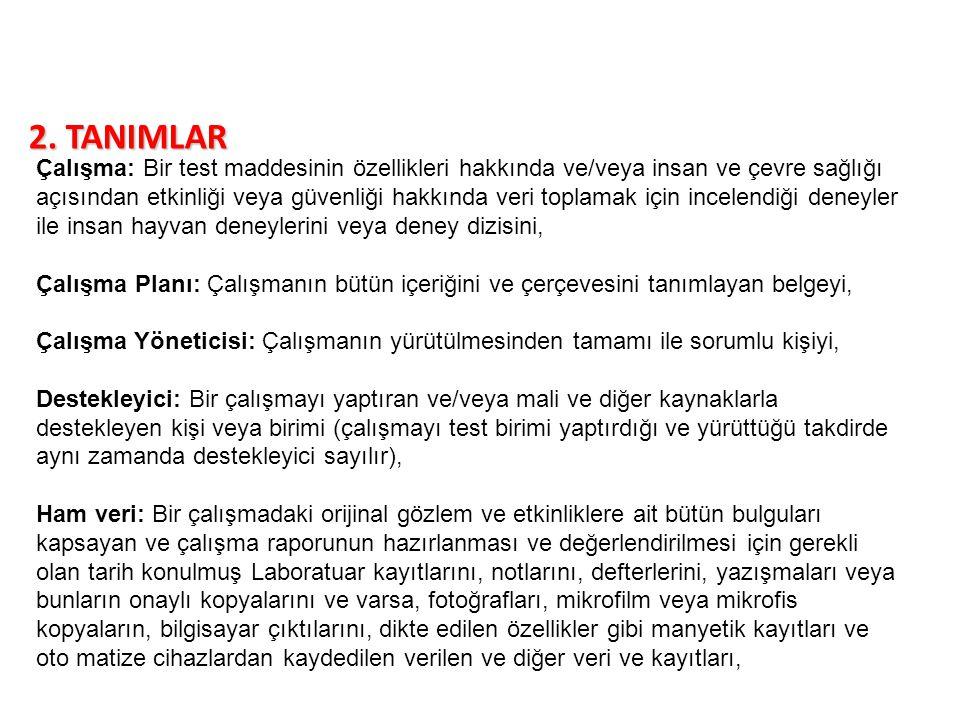 2. TANIMLAR