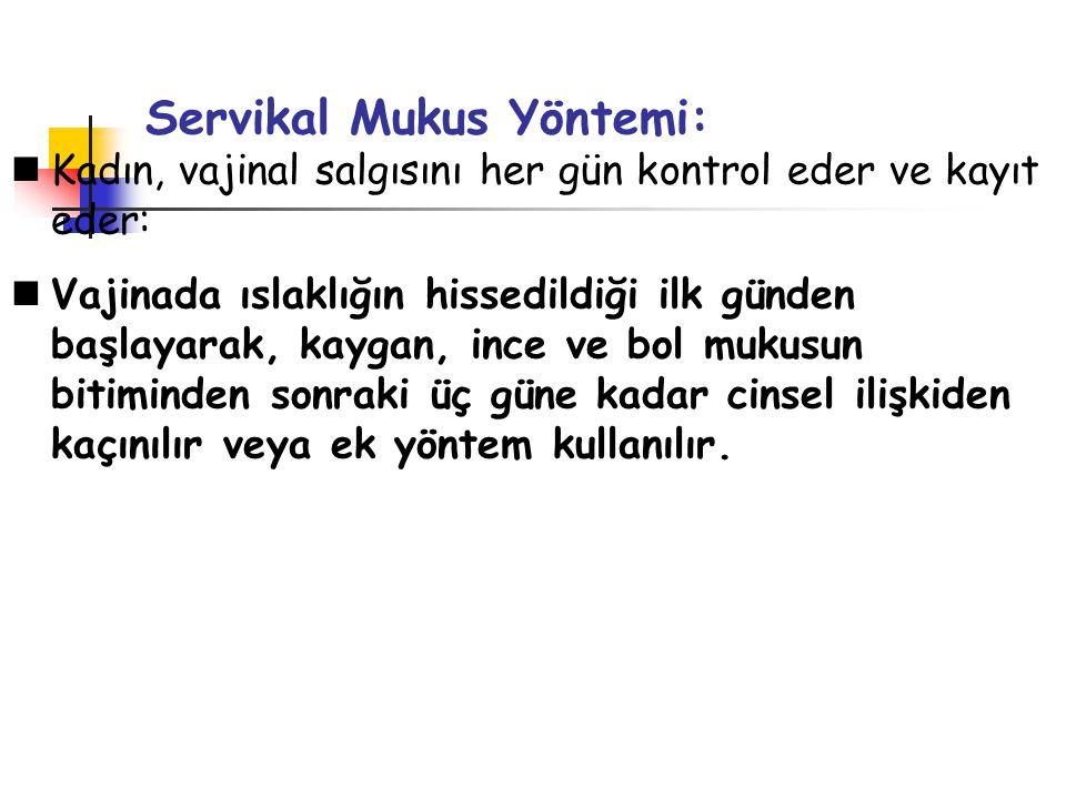 Servikal Mukus Yöntemi: