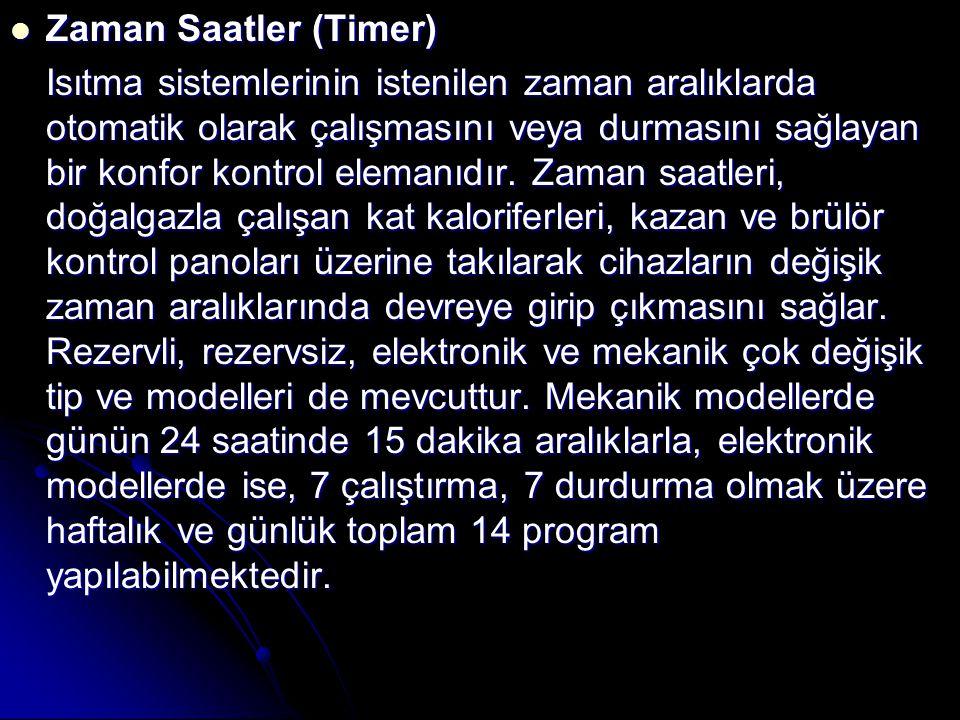 Zaman Saatler (Timer)