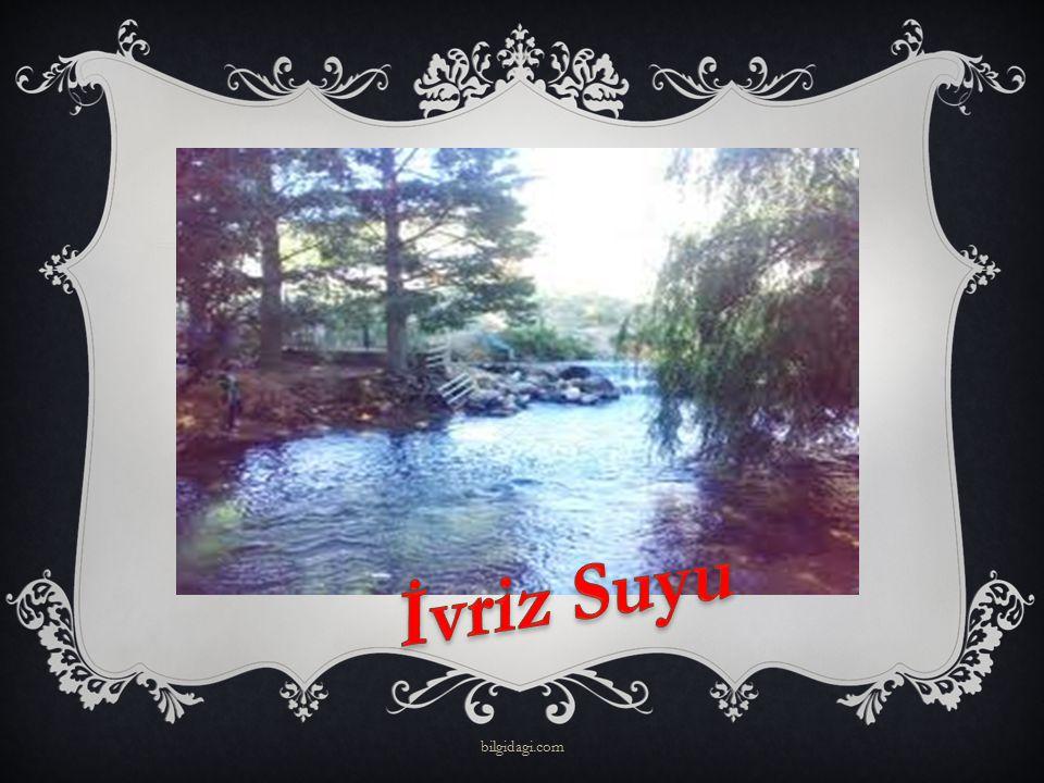 İvriz Suyu bilgidagi.com