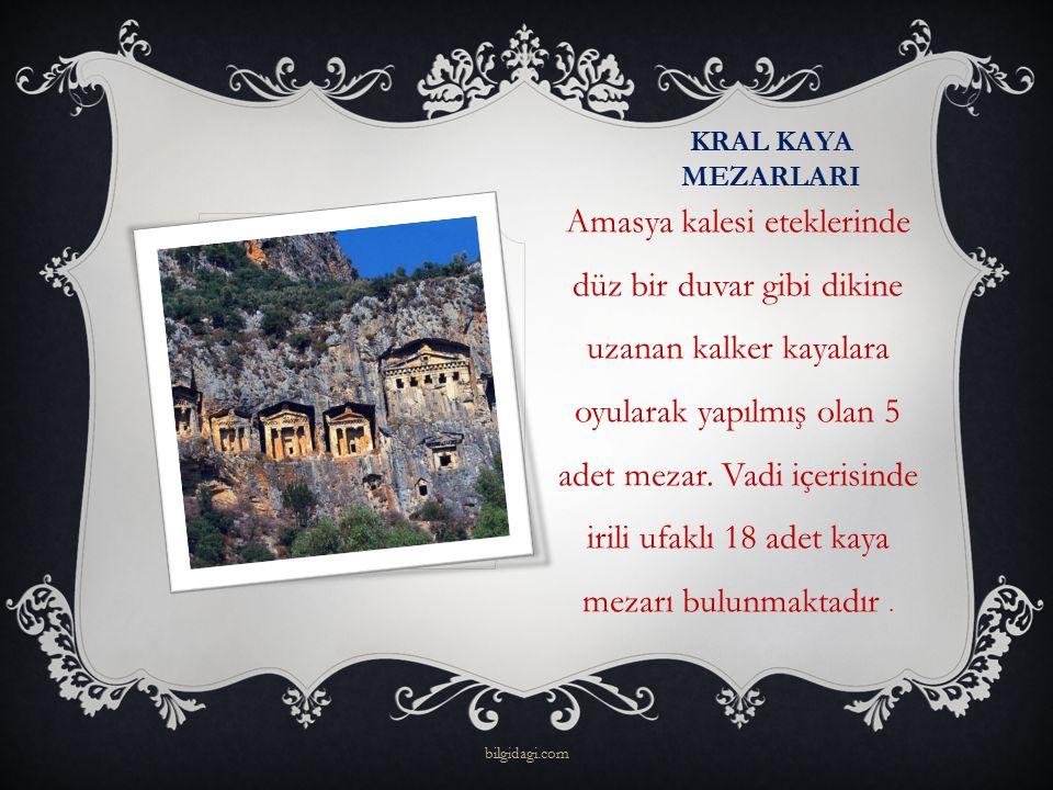 KRAL KAYA MEZARLARI