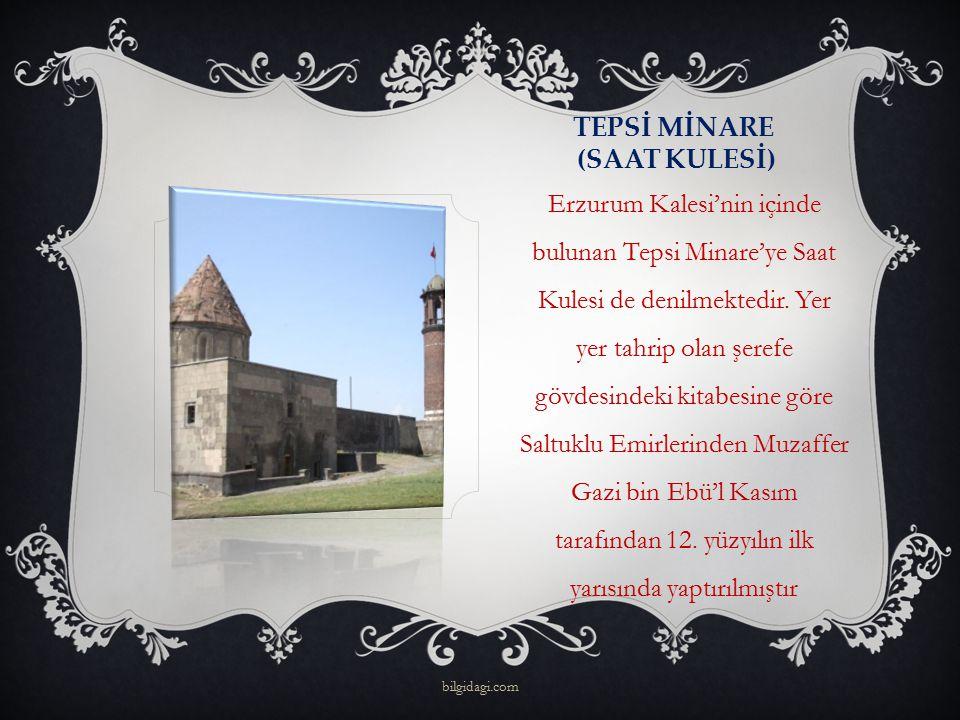TEPSİ MİNARE (SAAT KULESİ)