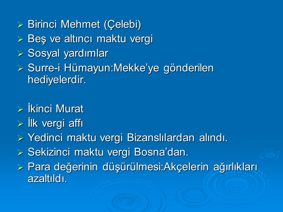 Birinci Mehmet (Çelebi)