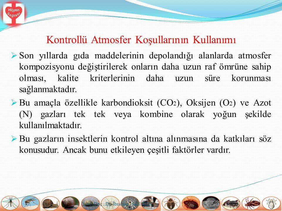 Kontrollü Atmosfer Koşullarının Kullanımı