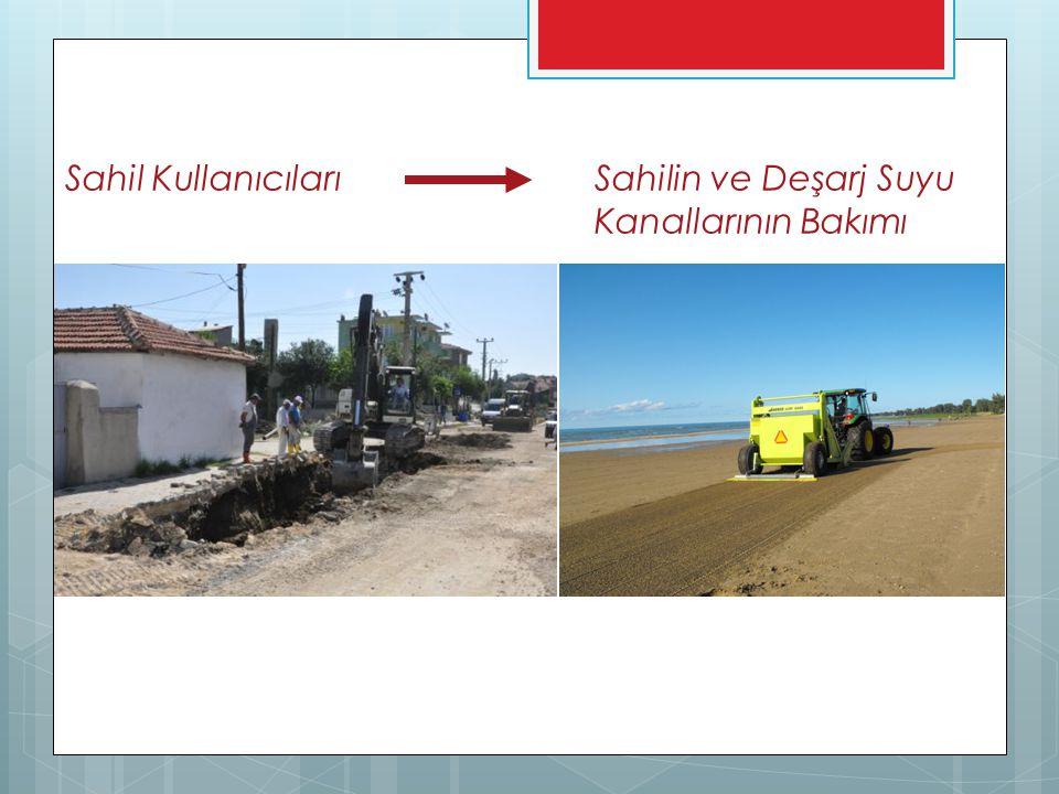 Sahil Kullanıcıları Sahilin ve Deşarj Suyu Kanallarının Bakımı