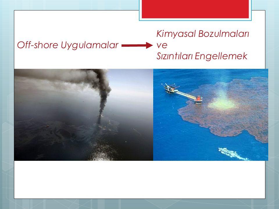 Kimyasal Bozulmaları Off-shore Uygulamalar ve Sızıntıları Engellemek