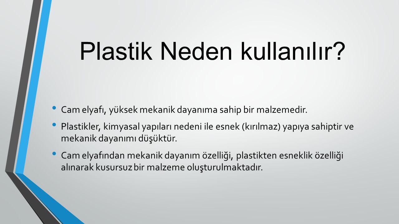 Plastik Neden kullanılır