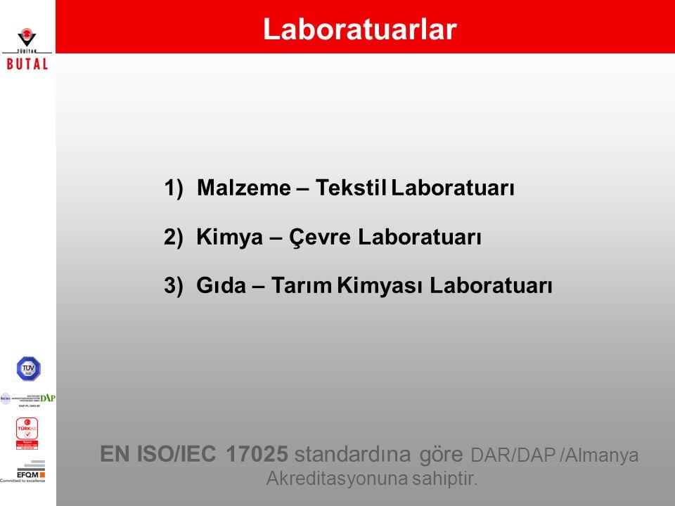 Laboratuarlar Malzeme – Tekstil Laboratuarı
