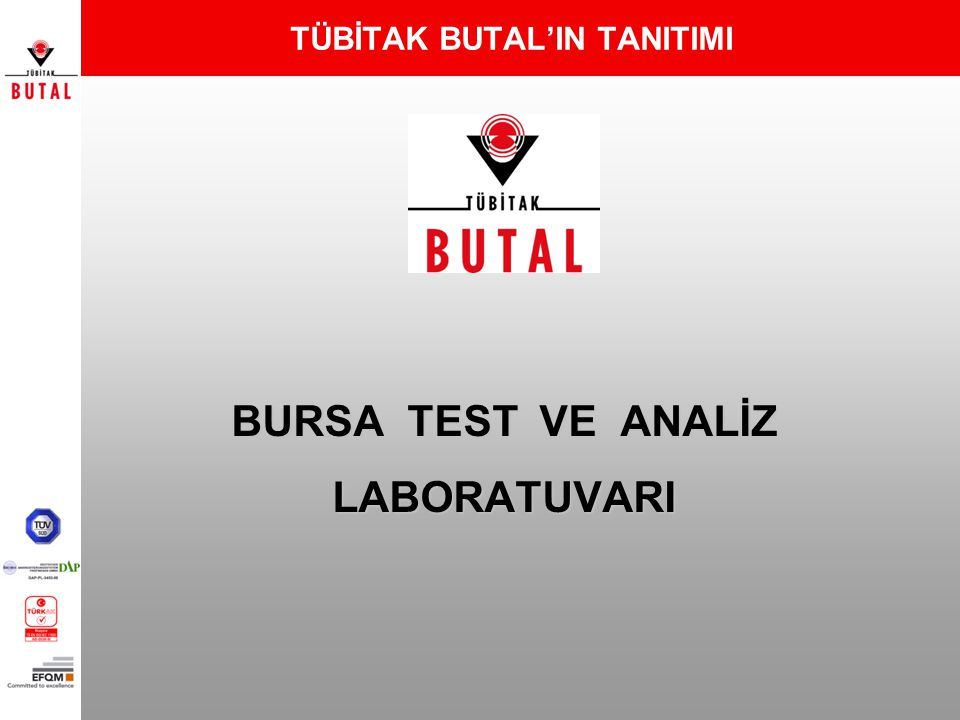 BURSA TEST VE ANALİZ LABORATUVARI