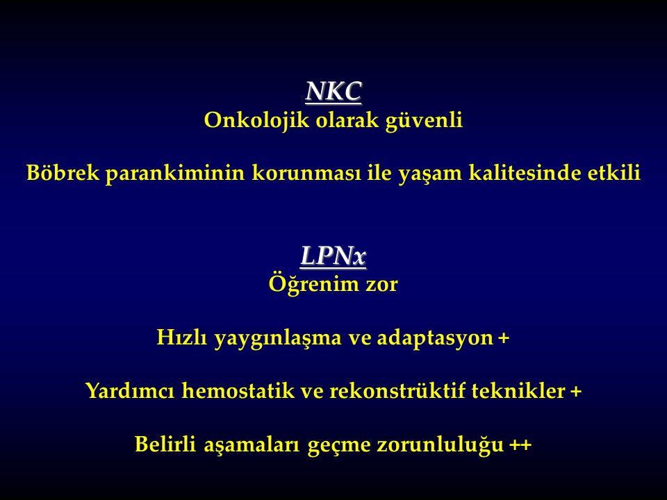 NKC LPNx Onkolojik olarak güvenli
