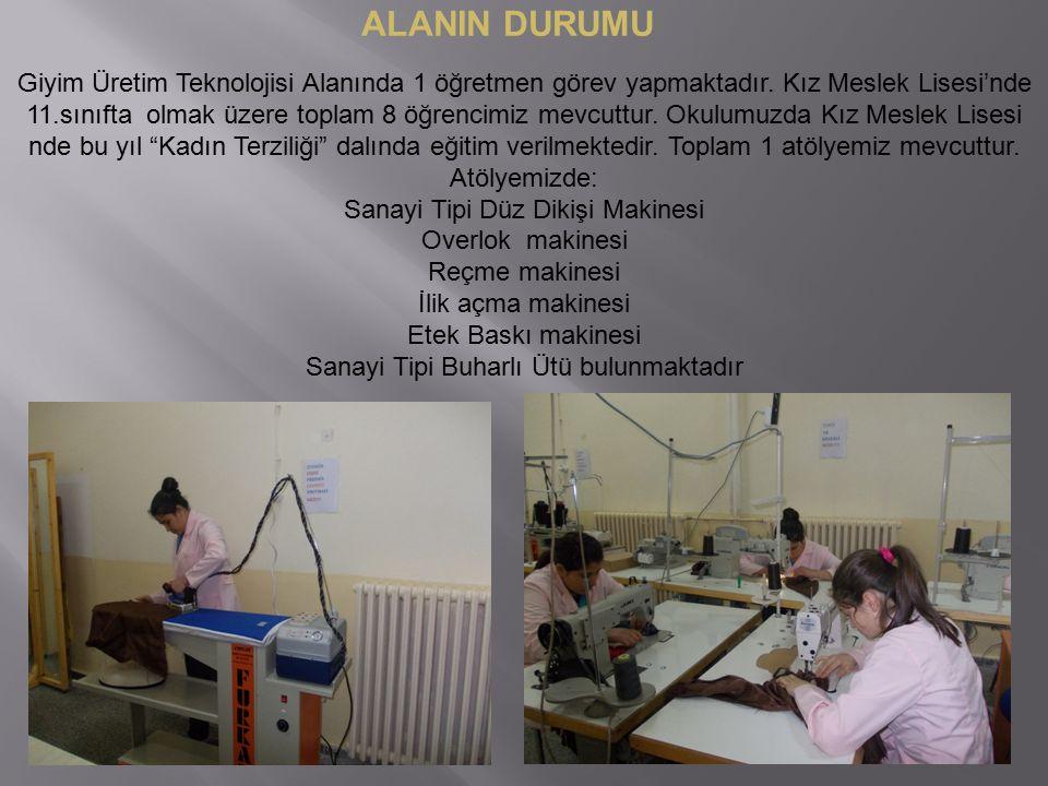 ALANIN DURUMU