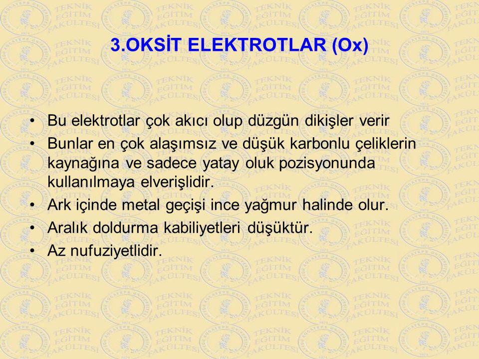 3.OKSİT ELEKTROTLAR (Ox)