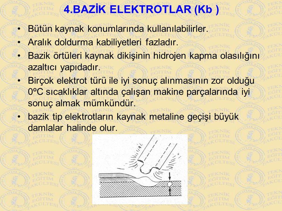 4.BAZİK ELEKTROTLAR (Kb )
