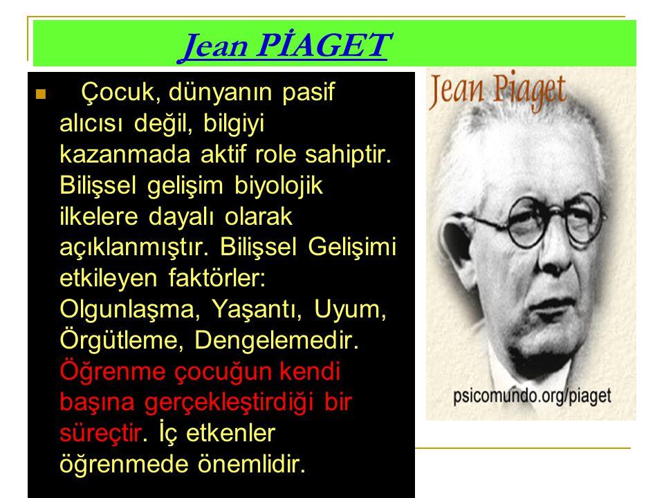 Jean PİAGET
