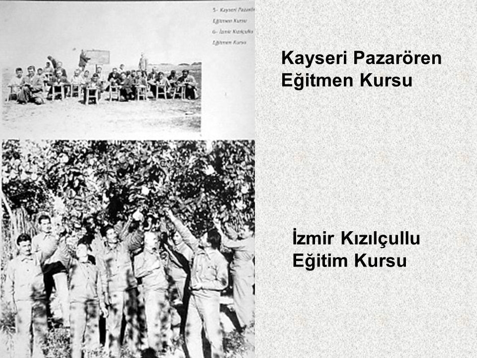 Kayseri Pazarören Eğitmen Kursu İzmir Kızılçullu Eğitim Kursu