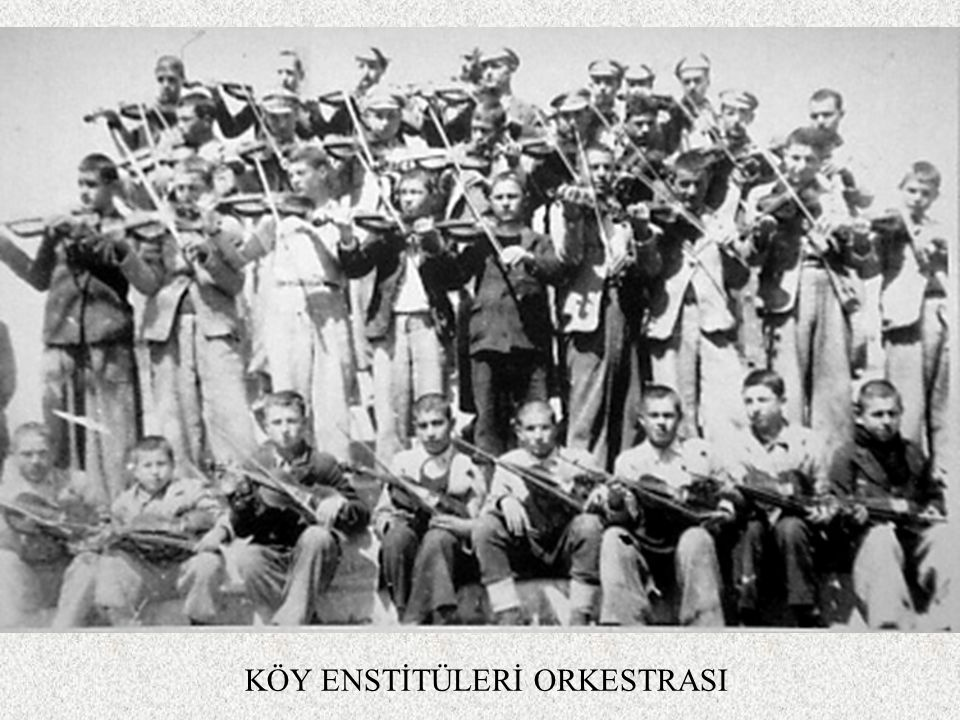 KÖY ENSTİTÜLERİ ORKESTRASI
